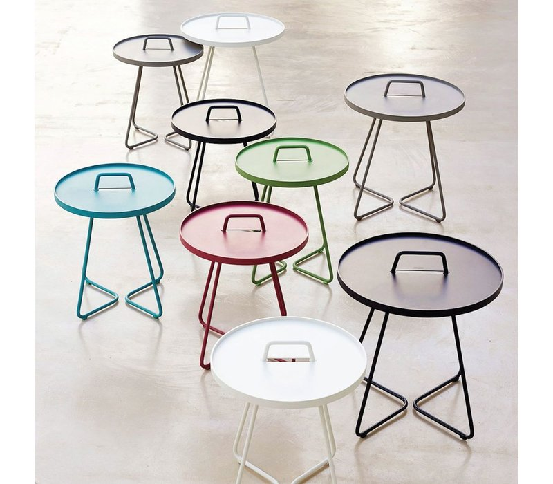 ON-THE-MOVE SIDE TABLE SMALL - WHITE