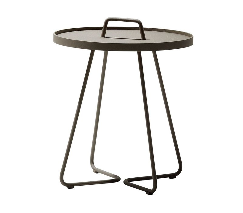 ON-THE-MOVE SIDE TABLE SMALL - TAUPE