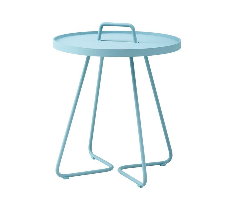 ON-THE-MOVE SIDE TABLE SMALL - TURQUOISE