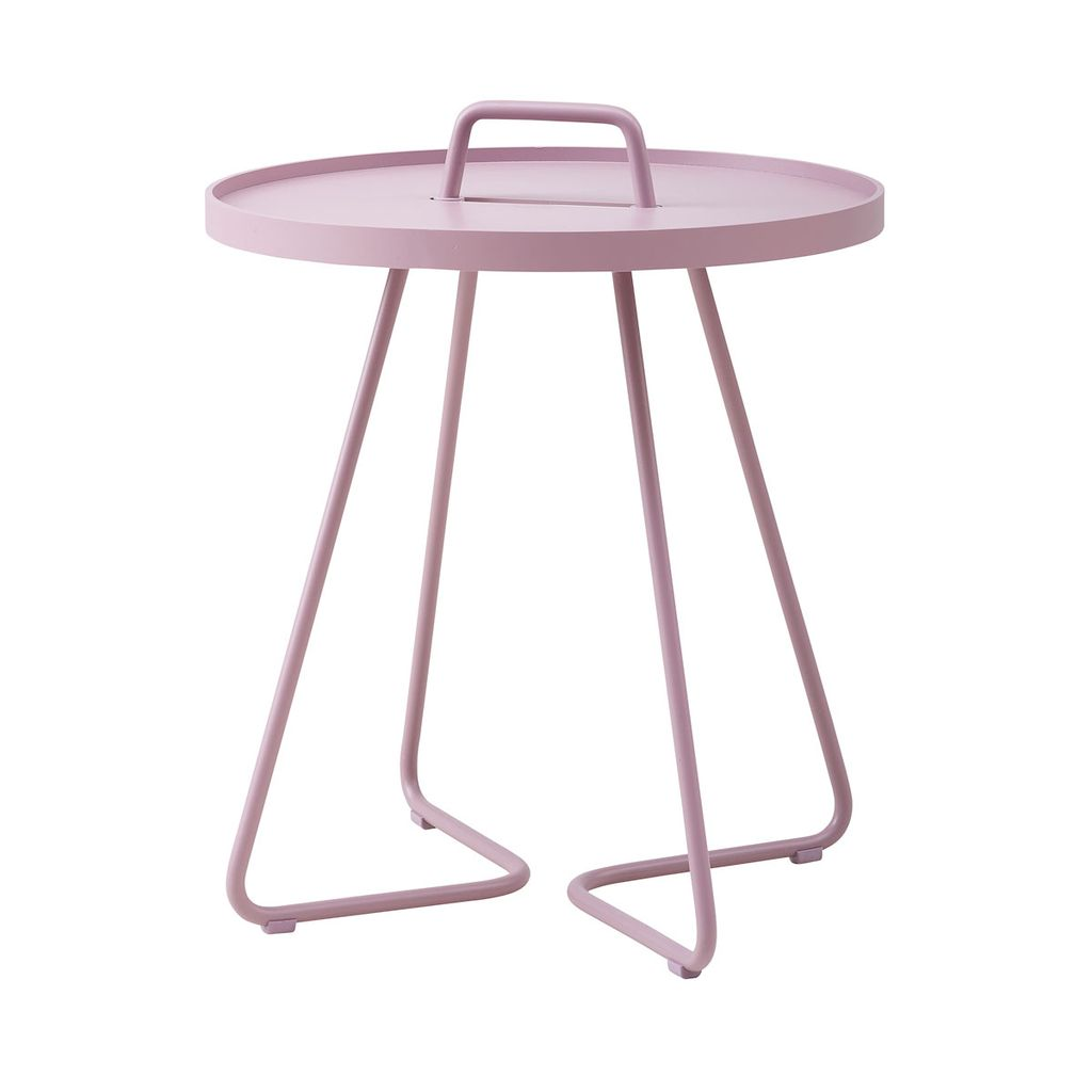 CANE-LINE ON-THE-MOVE SIDE TABLE SMALL - LAVENDER