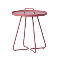 ON-THE-MOVE SIDE TABLE, SMALL IN MARSALA