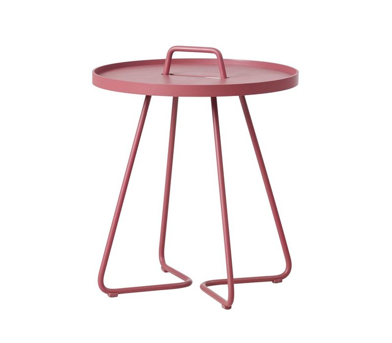 ON-THE-MOVE SIDE TABLE SMALL - MARSALA