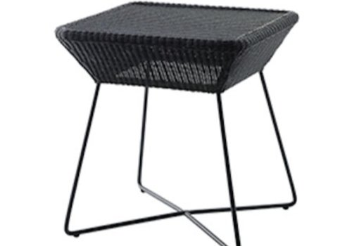 CANE-LINE BREEZE SIDE TABLE BLACK, CANE-LINE FIBRE