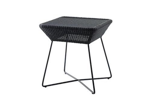 CANE-LINE BREEZE SIDE TABLE IN BLACK, CANE-LINE FIBRE