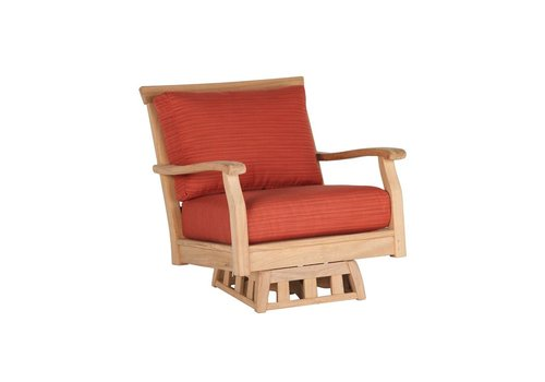 JENSEN LEISURE FURNITURE ENGLISH SWIVEL ROCKER