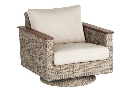 JENSEN LEISURE FURNITURE CORAL SWIVEL ROCKER WITH C GRADE CUSHION