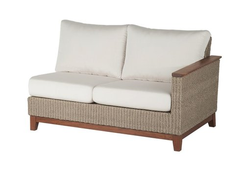 JENSEN LEISURE FURNITURE CORAL SECTIONAL LEFT SEAT WITH C GRADE CUSHION