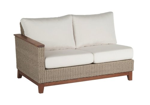 JENSEN LEISURE FURNITURE CORAL SECTIONAL RIGHT SEAT WITH C GRADE CUSHION
