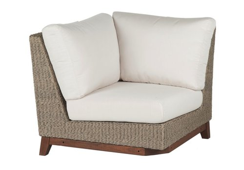 JENSEN LEISURE FURNITURE CORAL CORNER WITH C GRADE CUSHION