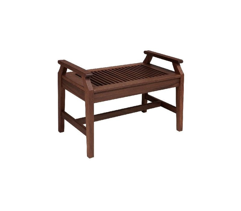 OPAL 2.5FT BENCH WITH ARMRESTS