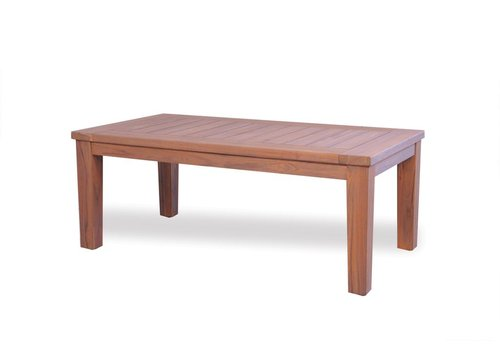 LLOYD FLANDERS RECTANGULAR TAPERED LEG COCKTAIL TABLE - ANTIQUE GRAY TEAK