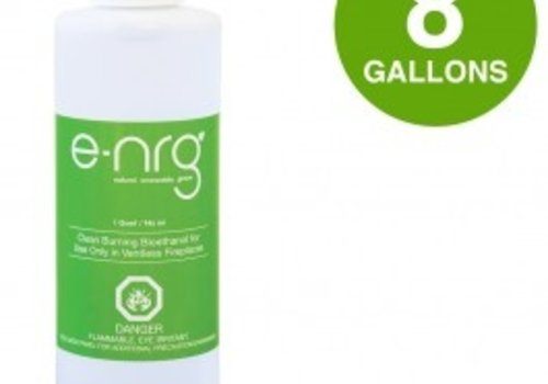 E-NRG BIOETHANOL 2 CASES/ 8 GALLON
