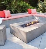 BROWN JORDAN FIRES LOOK STOOL OR SIDE TABLE, NATURAL