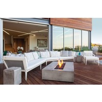 FLO BIOETHANOL FIRE TABLE IN NATURAL FINISH