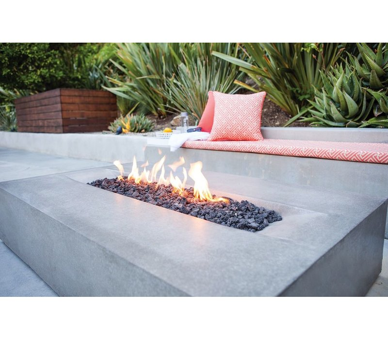 FLO BIOETHANOL FIRE TABLE IN NATURAL COLOR