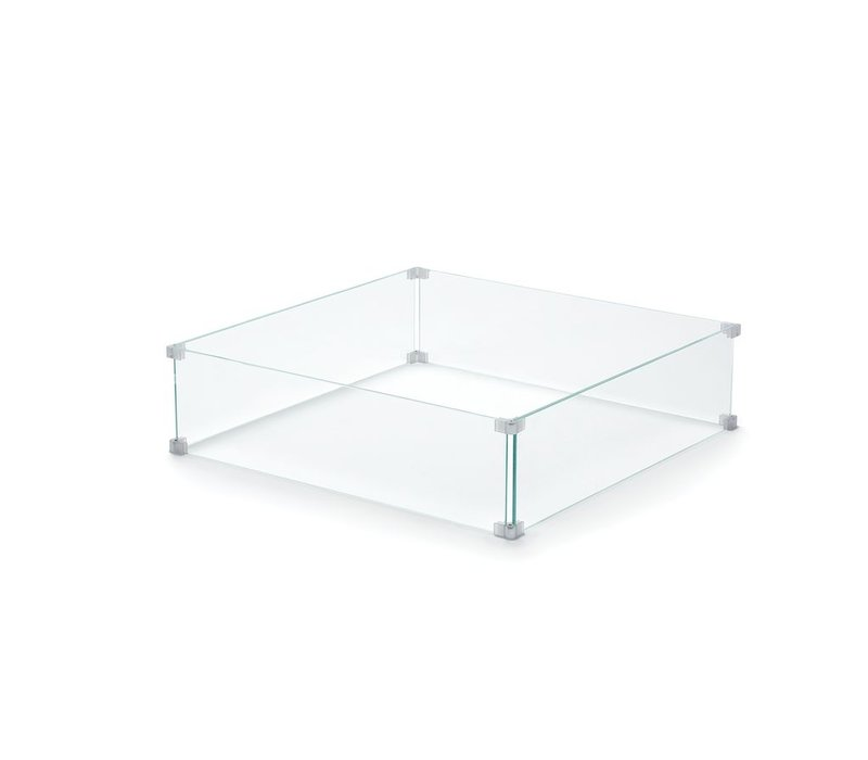 28 INCH SQUARE GLASS FOR THE QUAD