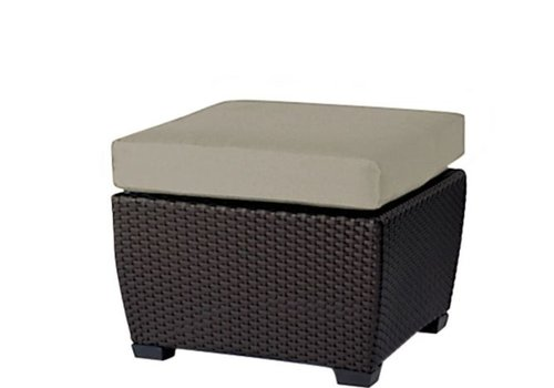 BROWN JORDAN FUSION LOUNGE OTTOMAN - BRONZE