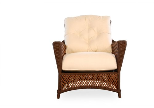 LLOYD FLANDERS GRAND TRAVERSE LOUNGE CHAIR WITH CUSHON