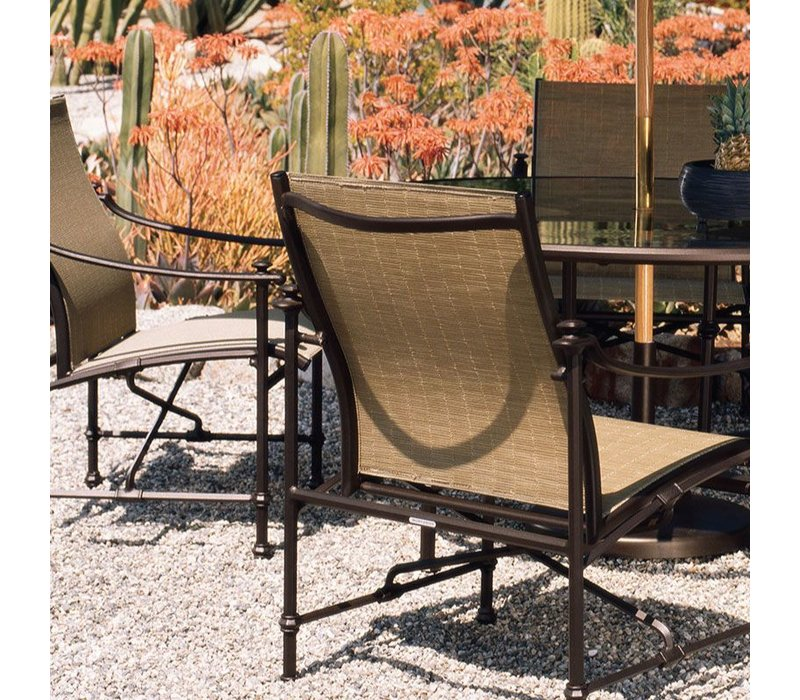 CAMPAIGN SLING ARM CHAIR