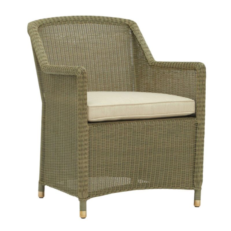 SOUTHAMPTON ARM CHAIR IN SAGE WITH GRADE A FABRIC