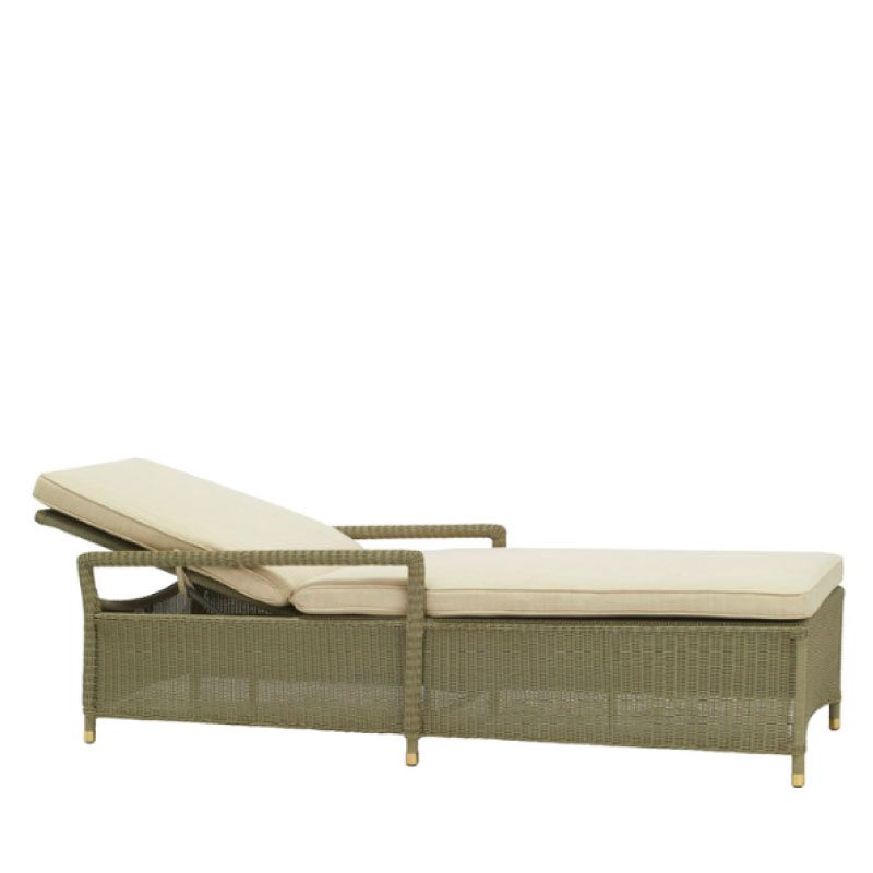 BROWN JORDAN SOUTHAMPTON ADJUSTABLE CHAISE W/ CUSHION