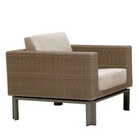 IL VIALE LOUNGE CHAIR WITH GRADE A FABRIC