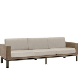 BROWN JORDAN IL VIALE SOFA WITH LOOSE CUSHIONS