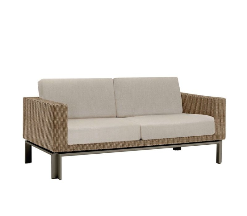 IL VIALE LOVESEAT W/ LOOSE CUSHIONS