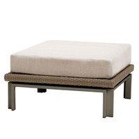 IL VIALE OTTOMAN WITH CUSHION