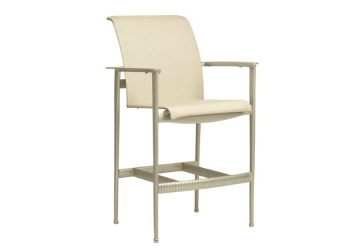 BROWN JORDAN FLIGHT BAR CHAIR WITH ARMS IN GRADE A SLING