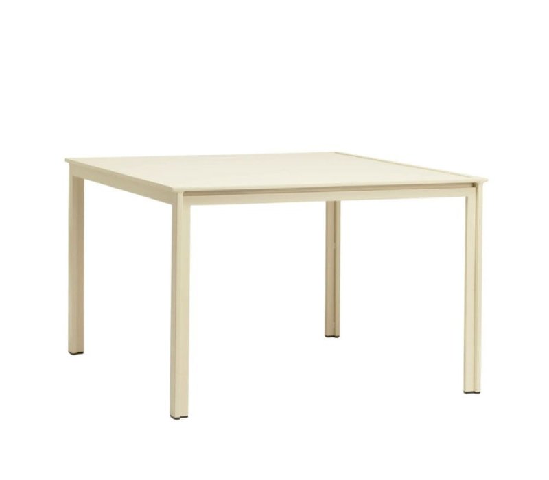 SWIM 45 X 45 DINING TABLE - ALUMINUM TOP NO UMBRELLA HOLE