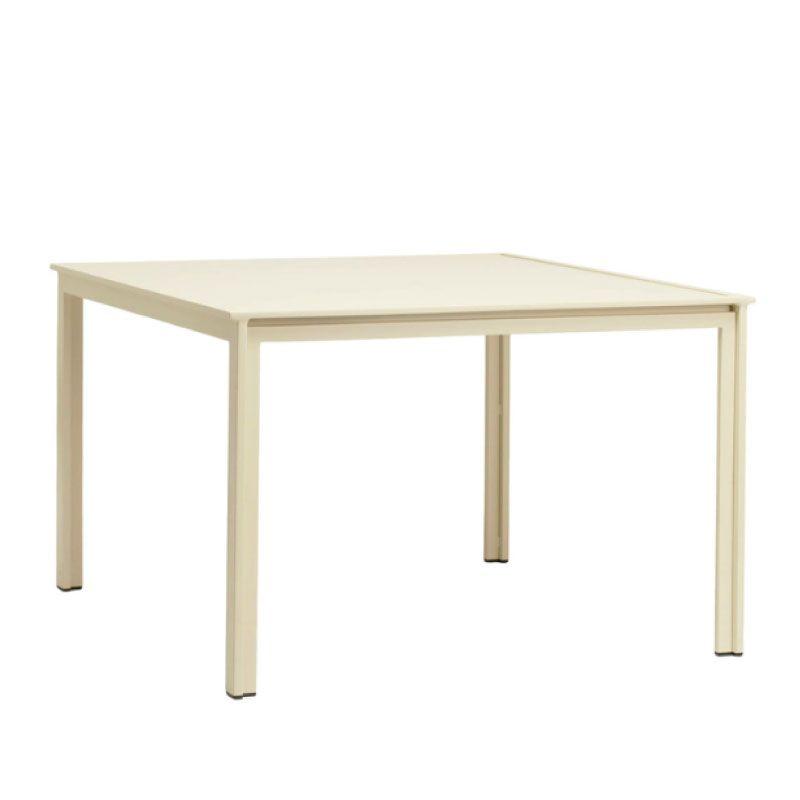 BROWN JORDAN SWIM 45 X 45 DINING TABLE - ALUMINUM TOP NO UMBRELLA HOLE