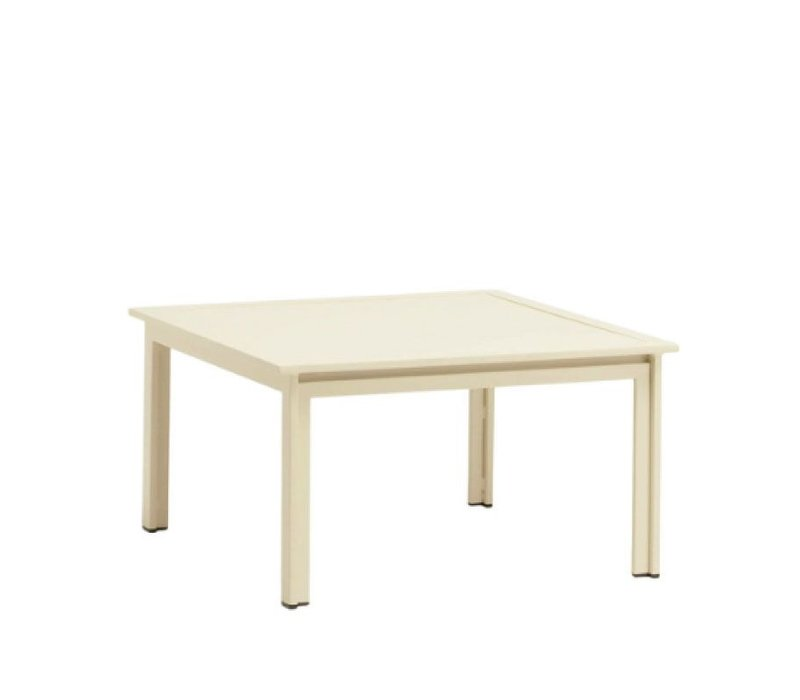 SWIM 27 X 27 END TABLE - ALUMINUM TOP