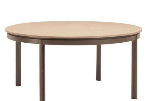 BROWN JORDAN ELEMENTS 54 ROUND DINING TABLE RESINWOOD TOP NO UMBRELLA HOLE