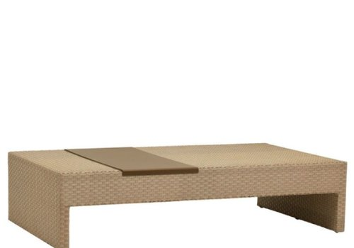 BROWN JORDAN ELEMENTS 36 X 64 COFFEE TABLE