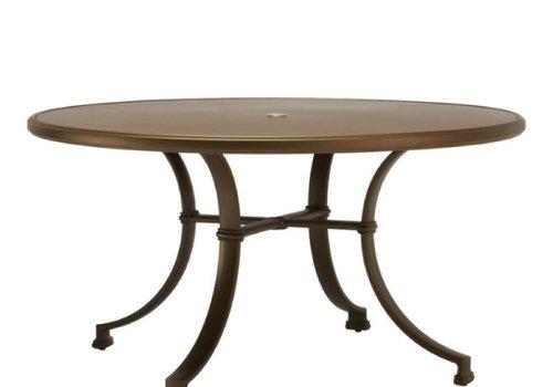 BROWN JORDAN FREMONT 54 DINING TABLE - ALUMINUM TOP