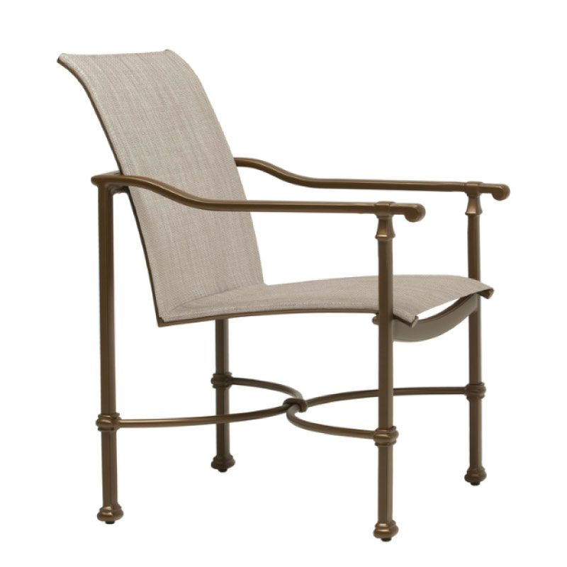 BROWN JORDAN FREMONT SLING ARM CHAIR