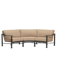 FREMONT CURVED SOFA WITH CUSHIONS