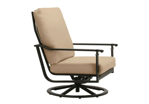 BROWN JORDAN FREMONT MOTION LOUNGE CHAIR WITH GRADE A FABRIC