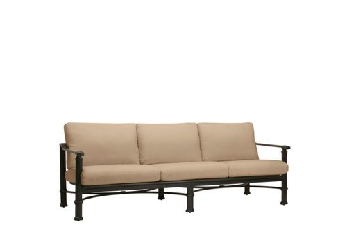 BROWN JORDAN FREMONT SOFA WITH CUSHIONS