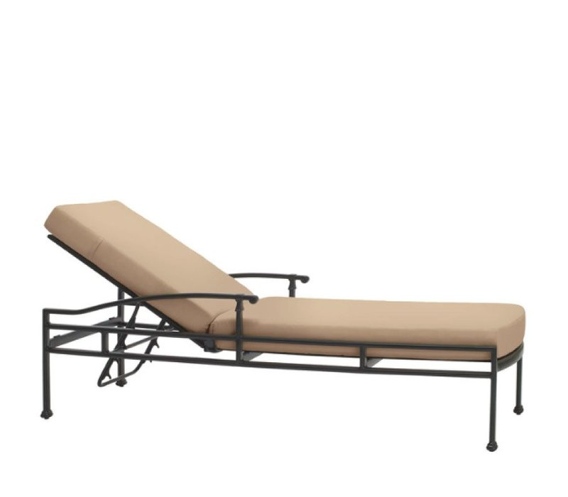 FREMONT ADJUSTABLE CHAISE WITH CUSHION