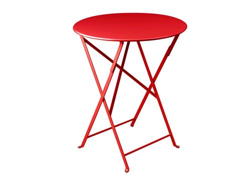 FERMOB BISTRO 24 ROUND FOLDING TABLE - FREE SHIPPING