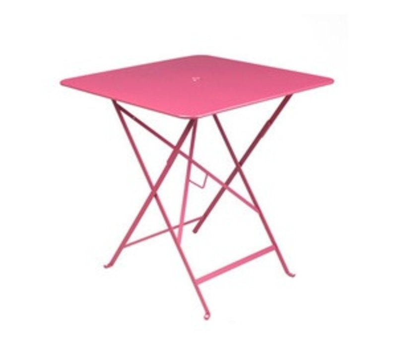 BISTRO 28 x 28 FOLDING TABLE WITH PARASOL HOLE - FREE SHIPPING