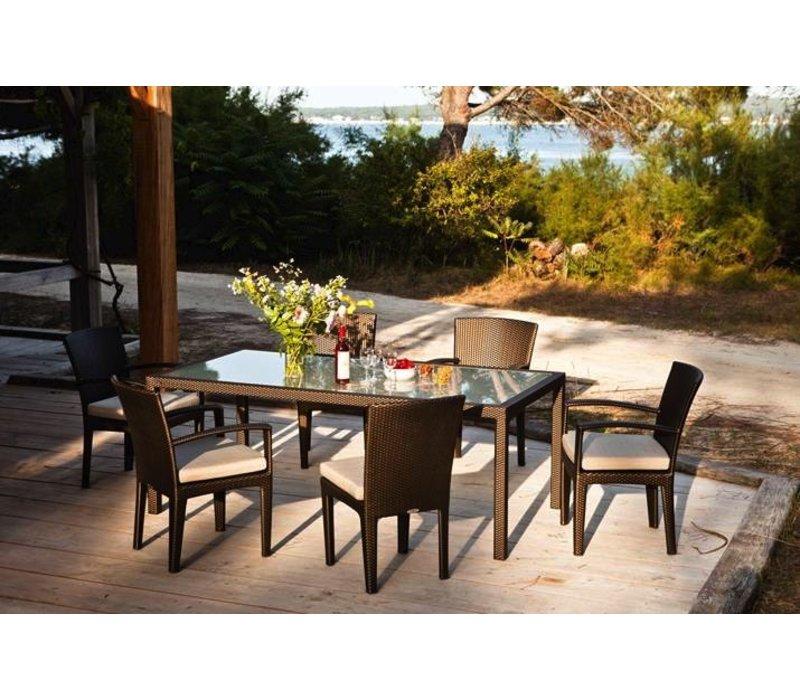 PANAMA 39 x 79 RECTANGULAR DINING TABLE