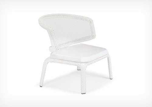 DEDON SEASHELL LOUNGE CHAIR-CHALK