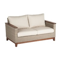 CORAL LOVESEAT WITH C GRADE CUSHION