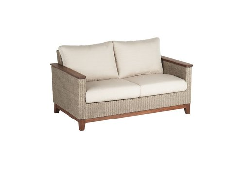 JENSEN LEISURE FURNITURE CORAL LOVESEAT WITH C GRADE CUSHION