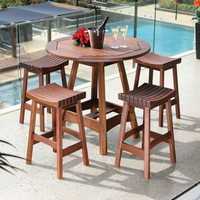 CAPRI 41 ROUND HIGH DINING TABLE