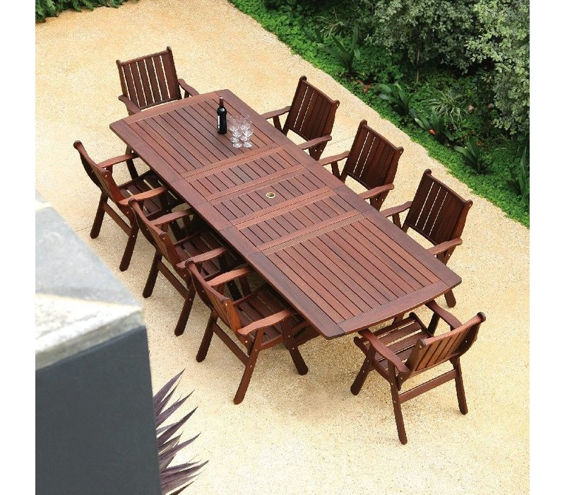 OMEGA EXTENSION DINING TABLE