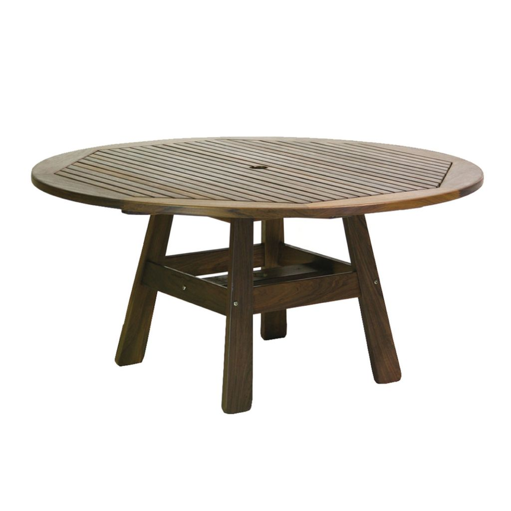 Jensen leisure furniture derby 58 round dining table for Outdoor furniture bunbury